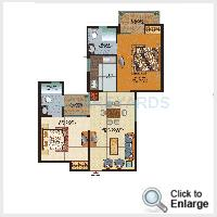value infra meadows vista2 apartment 2bhk 890sqft1