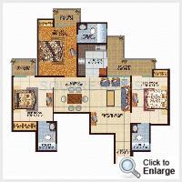 value infra meadows vista2 apartment 3bhk 1450sqft1