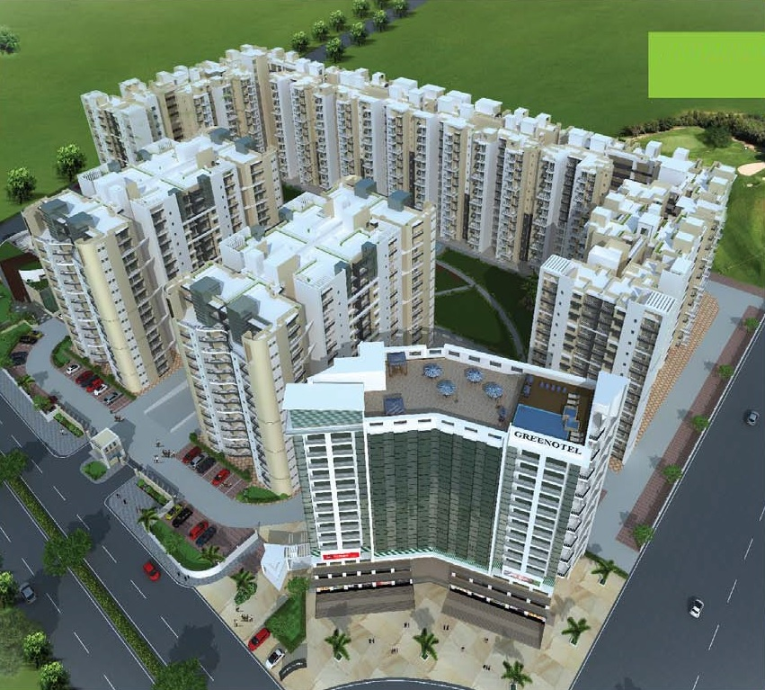 airwil golf green avenue project tower view4
