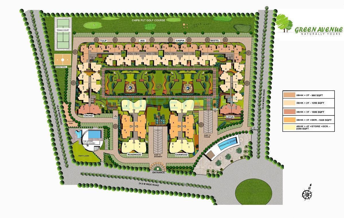airwil green avenue master plan image1