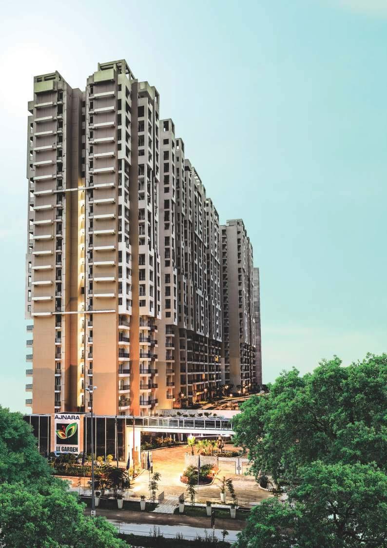 ajnara le garden prime tower tower view4