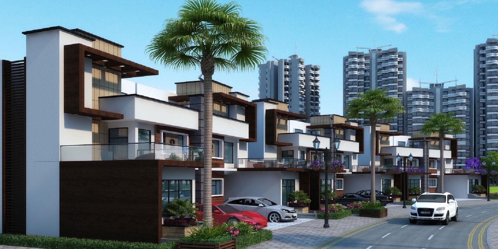 ajnara panorama facing f1 project tower view3