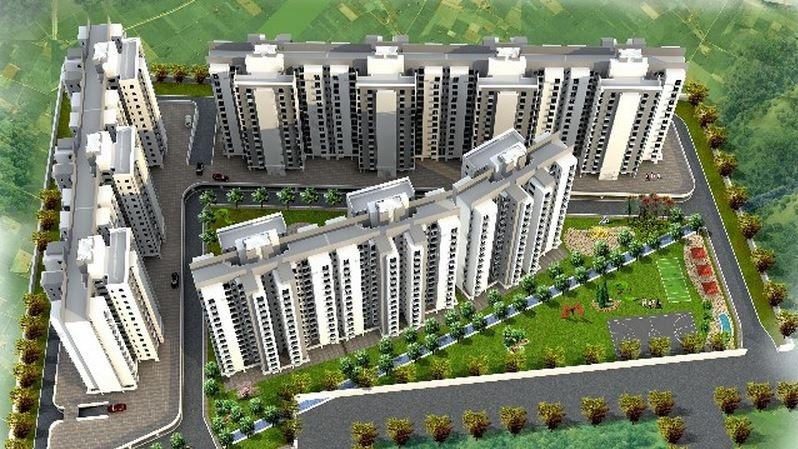 ansal api sushant megapolis aastha uday tower view6