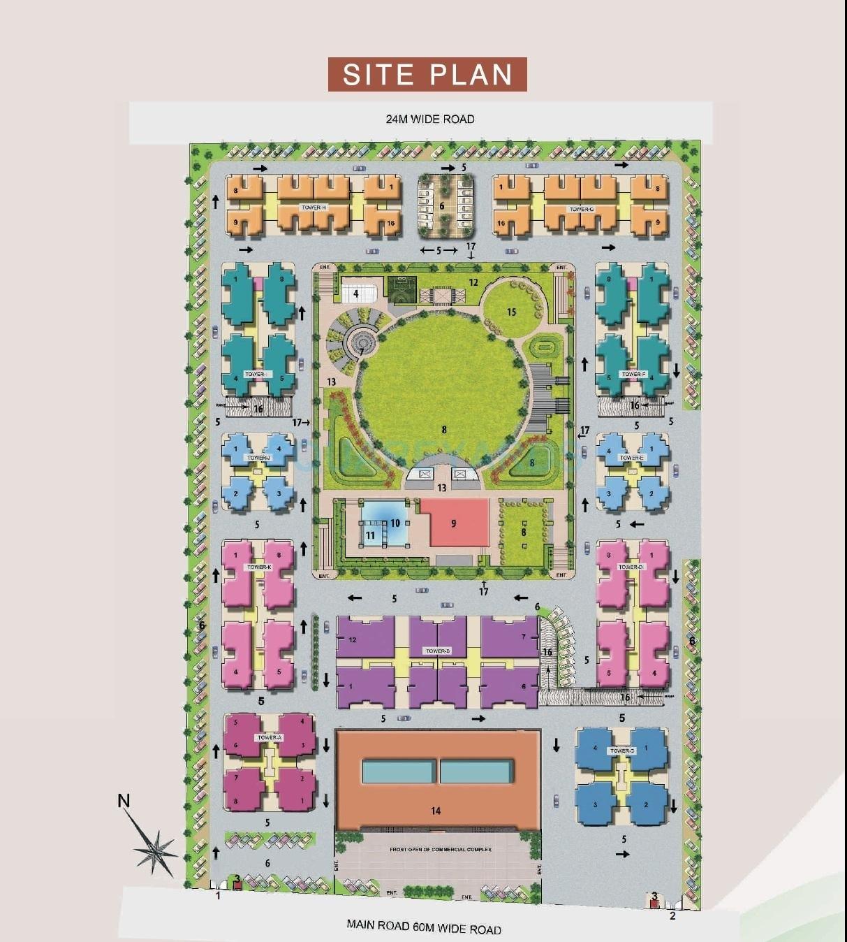 avj heightss project master plan image1