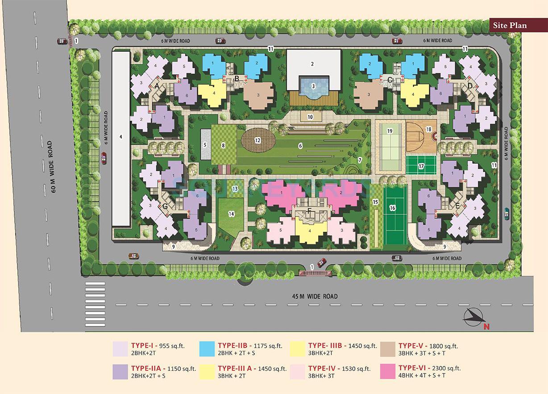 bsb vaibhav heritage height master plan image1