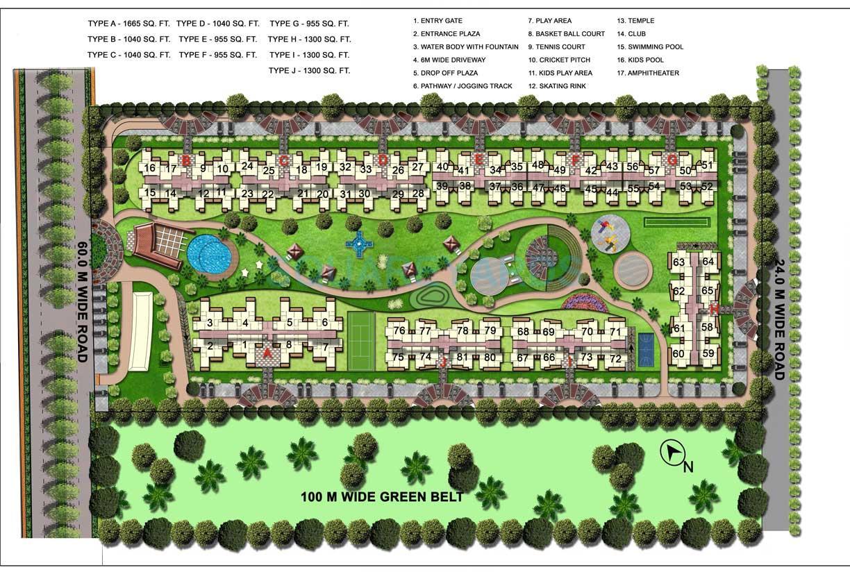 gaur atulyam master plan image1