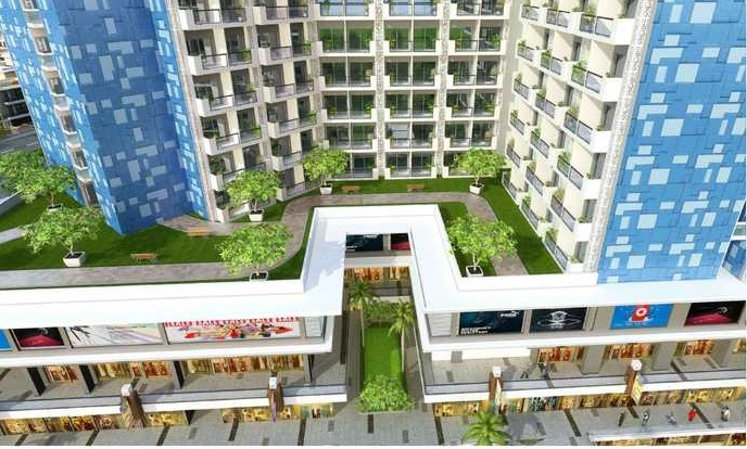 gaur runway suites project tower view2