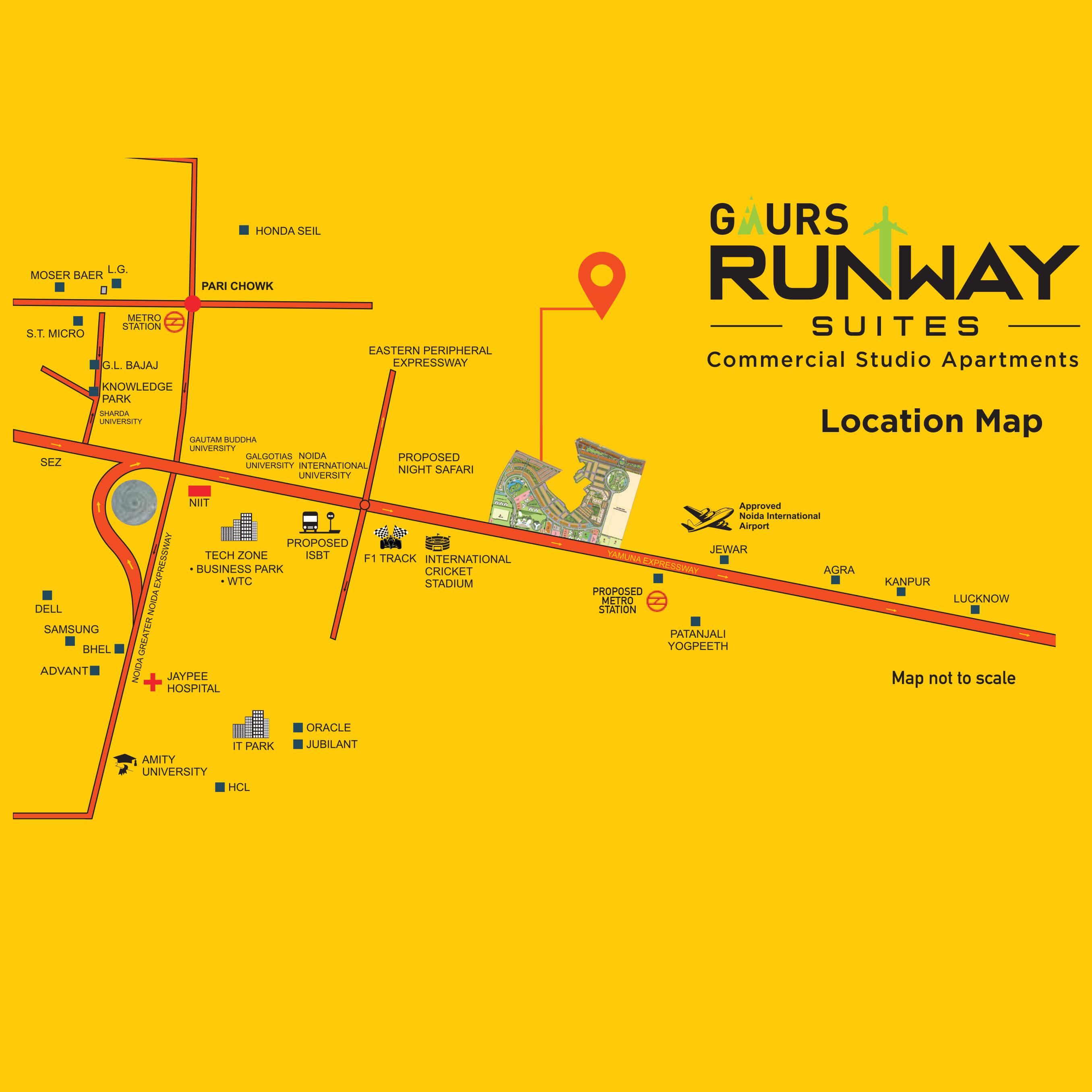 gaur the hub location image1