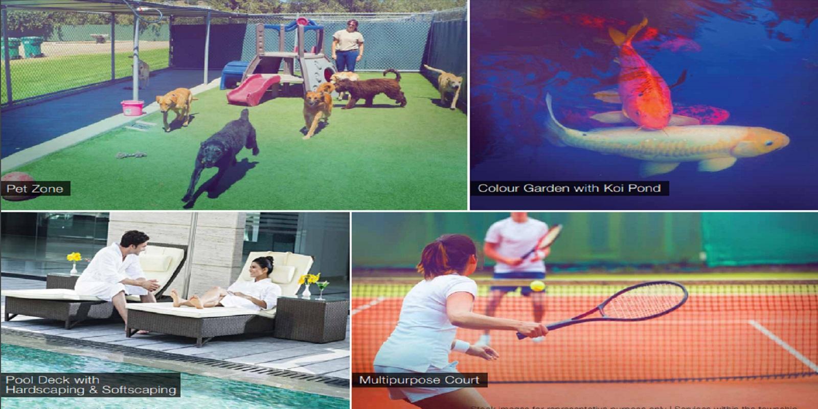 godrej golf link villas sports facilities image10