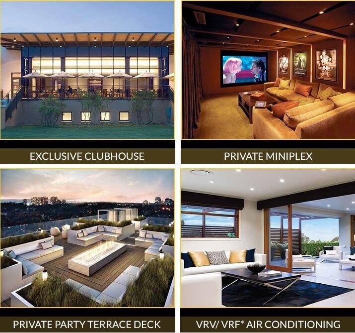 godrej golf links crest amenities features10
