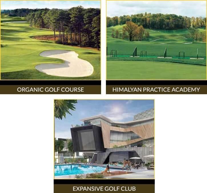 godrej golf links crest amenities features9