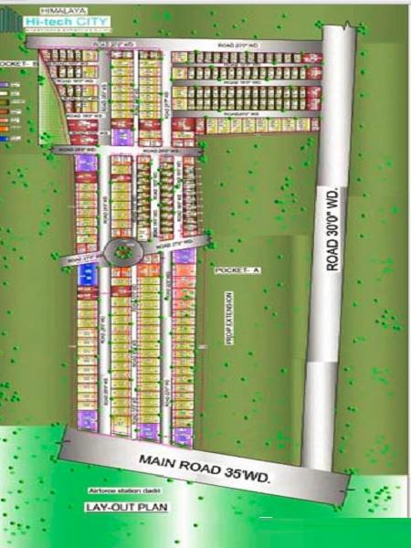 himalaya hi tech city project master plan image1
