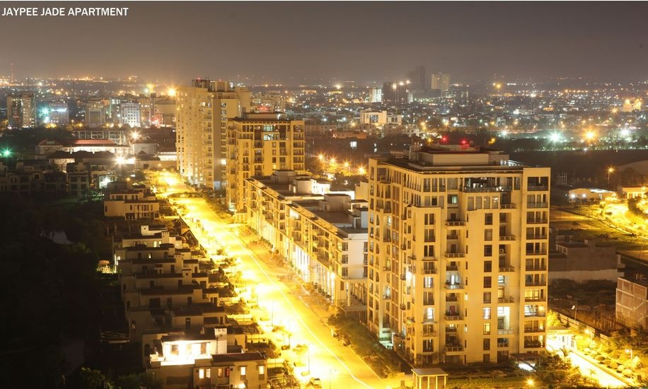 jaypee greens jade apartment project tower view2