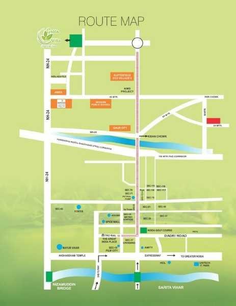 kingson green villa phase 2 location image7