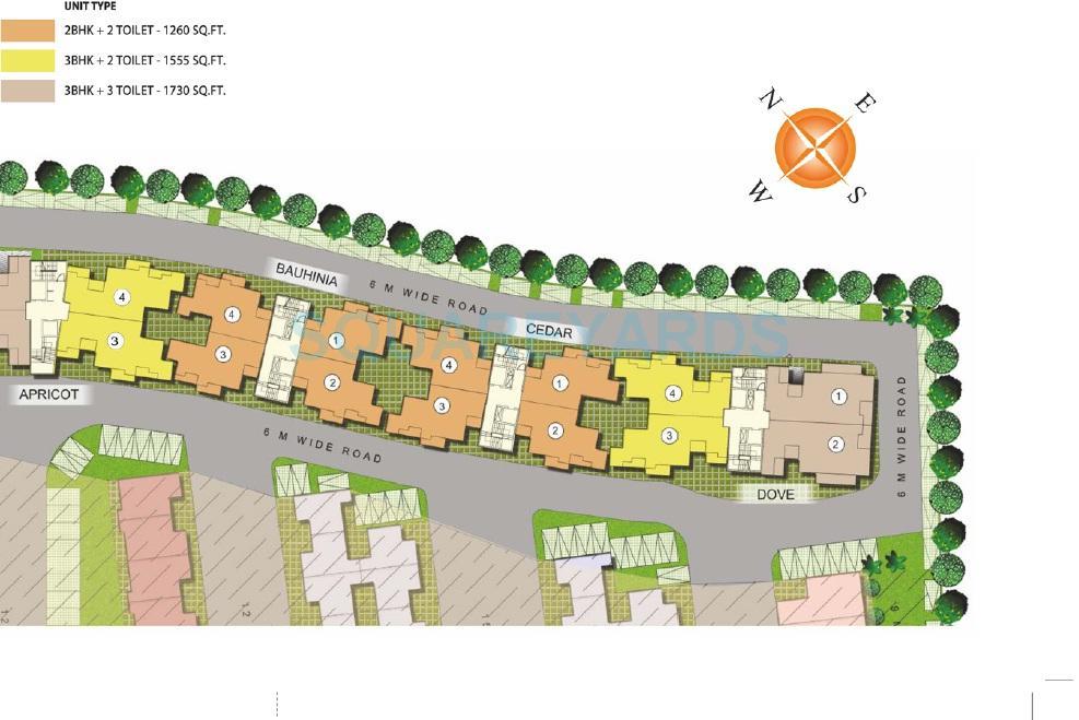 paramount golfforeste master plan image1