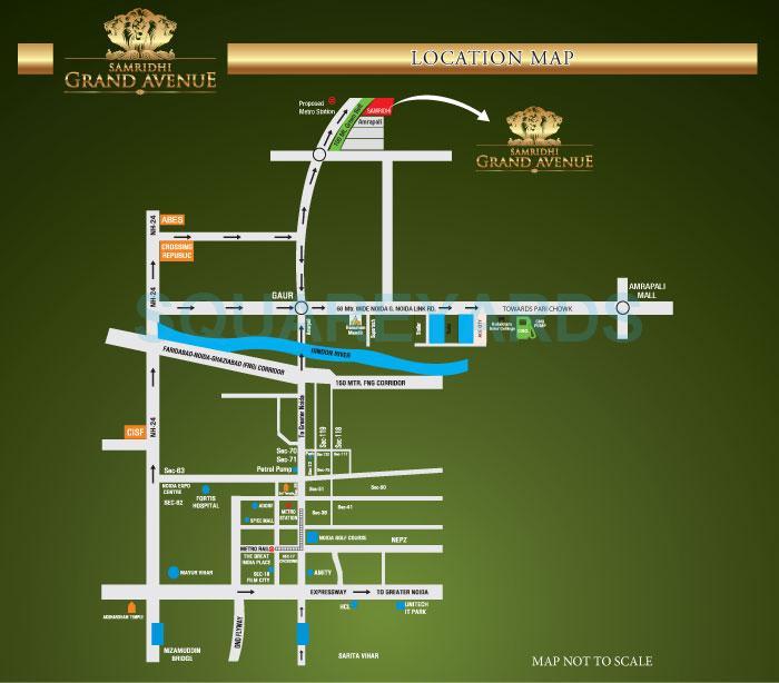 samridhi grand avenue location image1