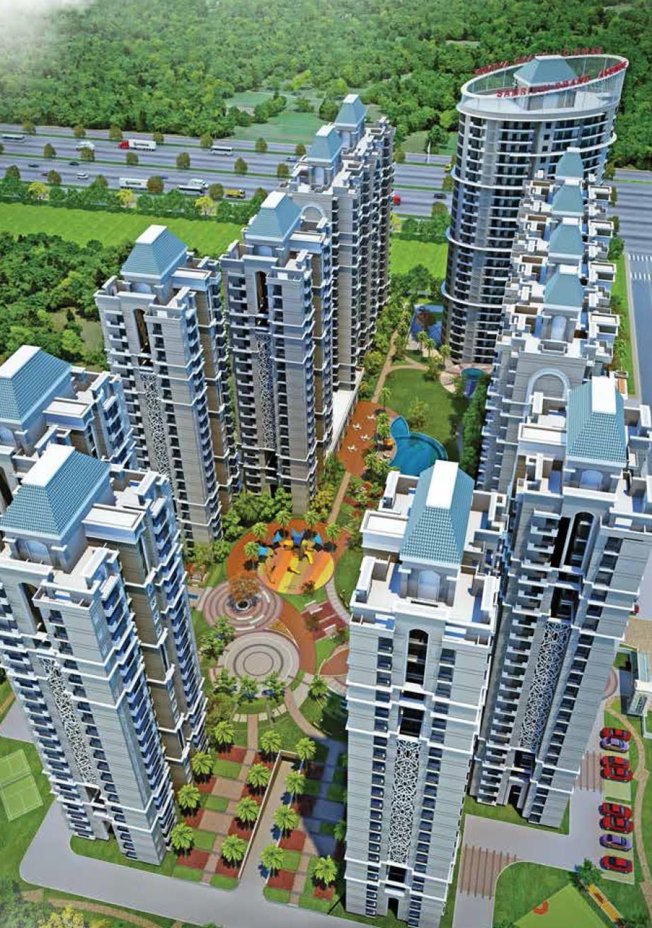 samridhi grand avenue project tower view10