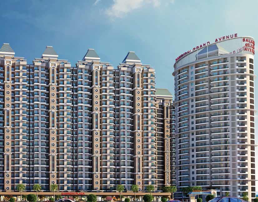 samridhi grand avenue project tower view9