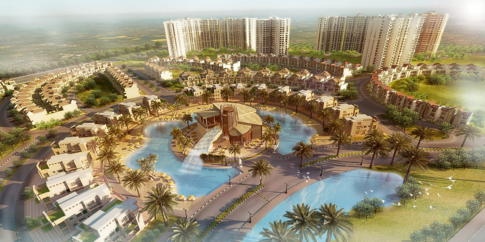 supertech up country villa project project large image1