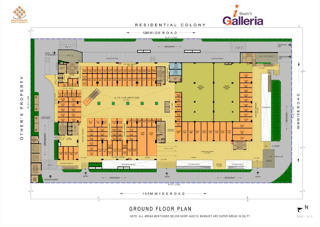 adihm ithums galleria retail shop select 197sqft 20204007114012