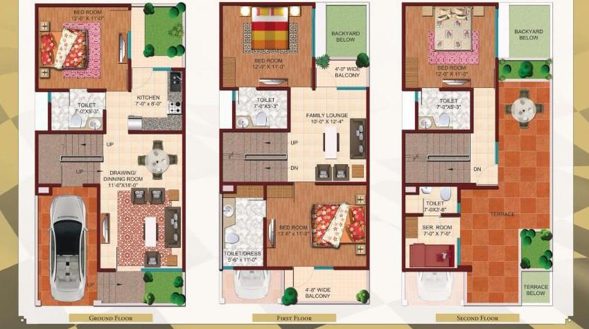 ajnara london square villa 4bhk 1890sqft 20202023202047