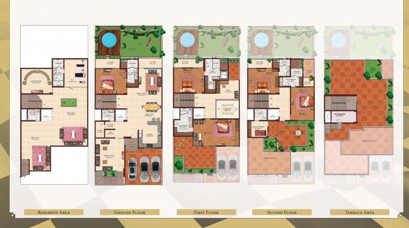 ajnara london square villa 5bhk 3850sqft 20201923201956