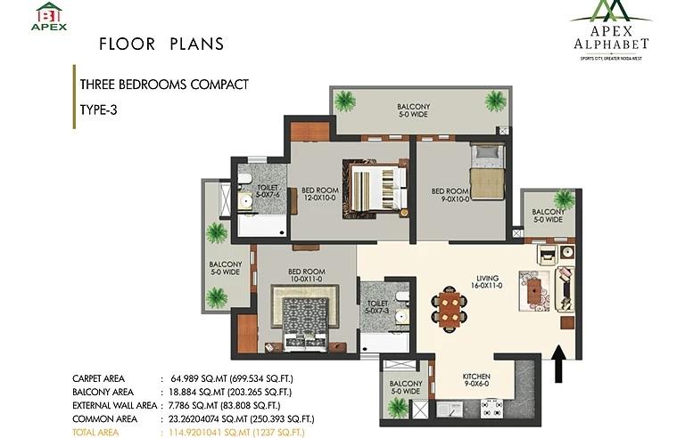 apex alphabet apartment 3 bhk 1237sqft 20200531140539