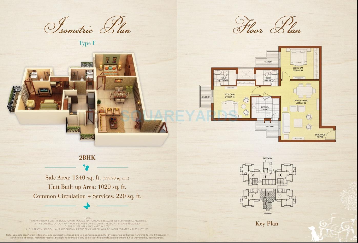 ats dolce apartment 2bhk 1240sqft 1