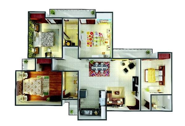 gaur city 4th avenue apartment 3 bhk 1640sqft 20212409122407