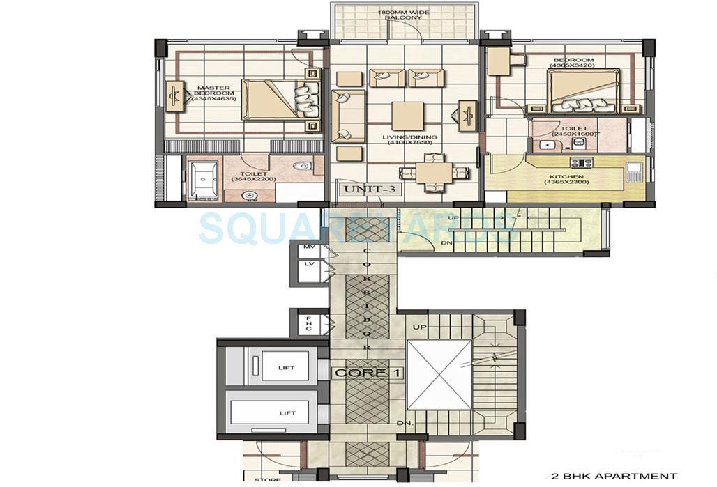 jaypee greens jade apartment apartment 2 bhk 1604sqft 20202720102738