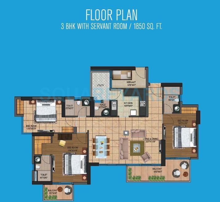 presidency heights apartment 3bhk sq 1850sqft 1