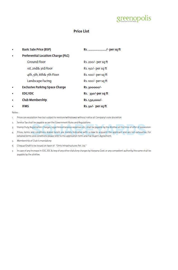 3c orris greenopolis payment plan image4