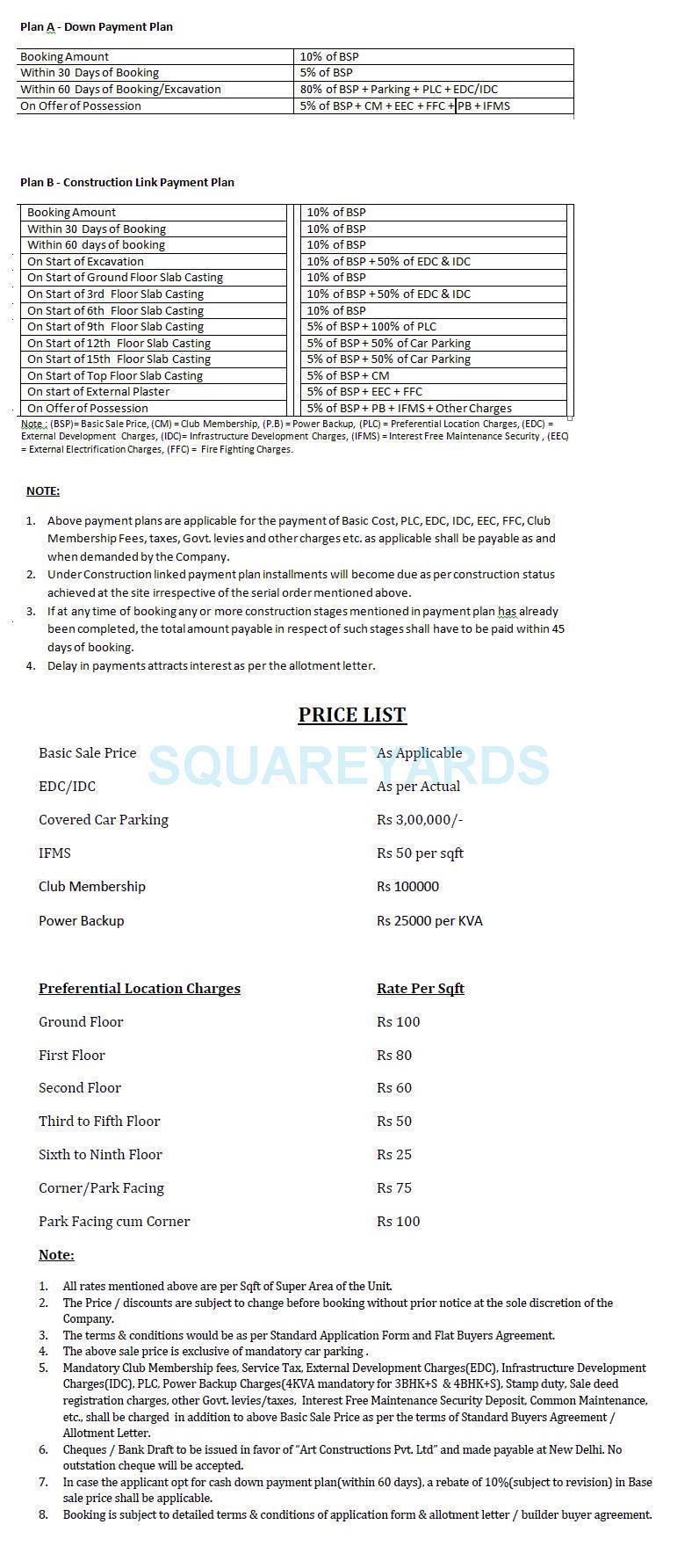 aakriti vastus payment plan image1