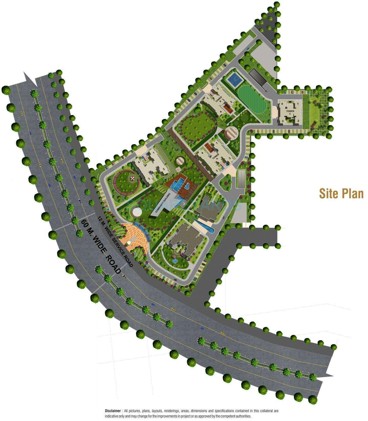 aipl the peaceful homes master plan image1