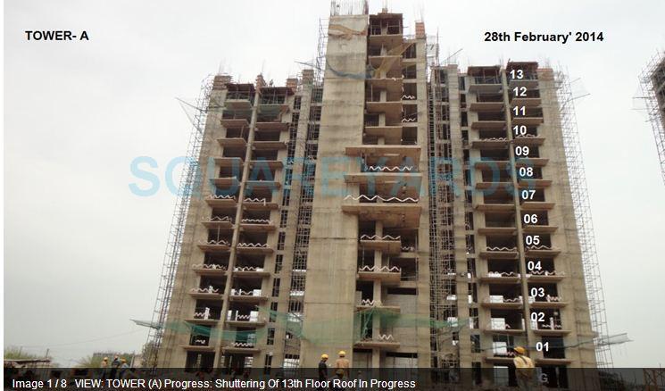 alpha g corp gurgaon one 84 construction status image1