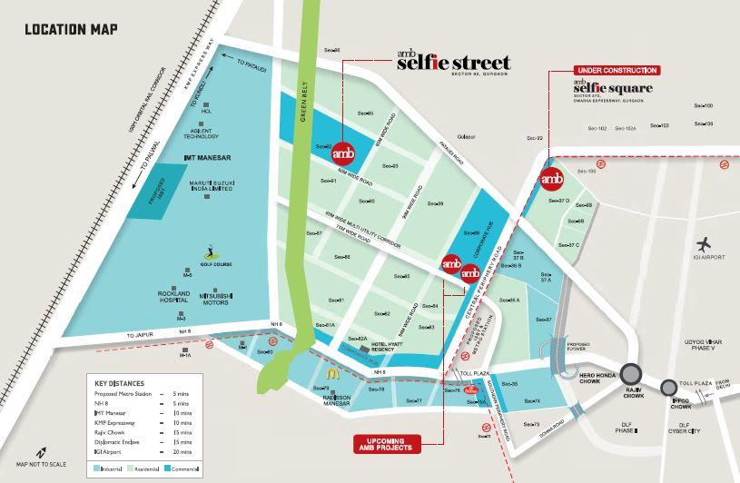 amb selfie street location image1