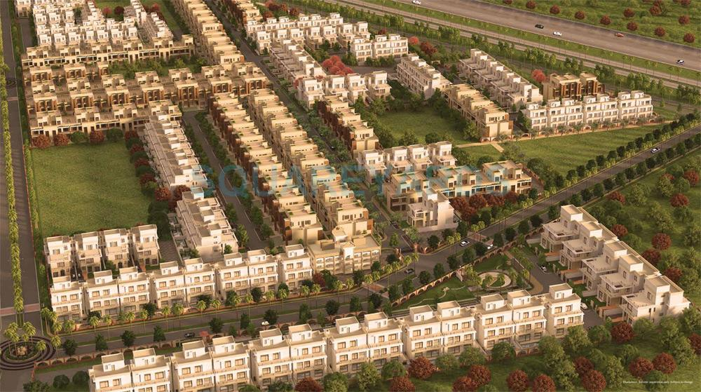 anant raj estate the villas master plan image1