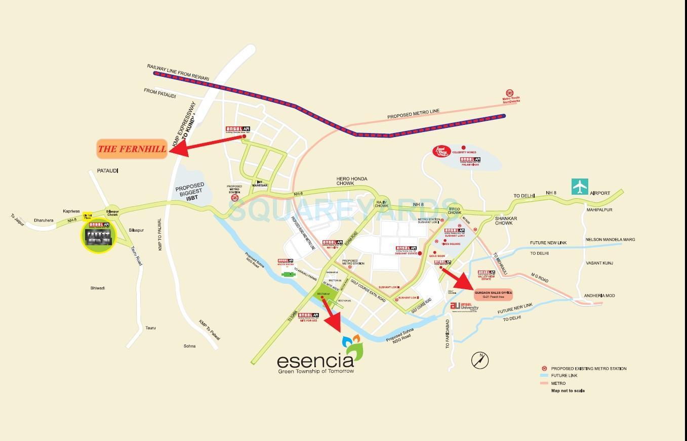 ansal esencia woodwinds location image1