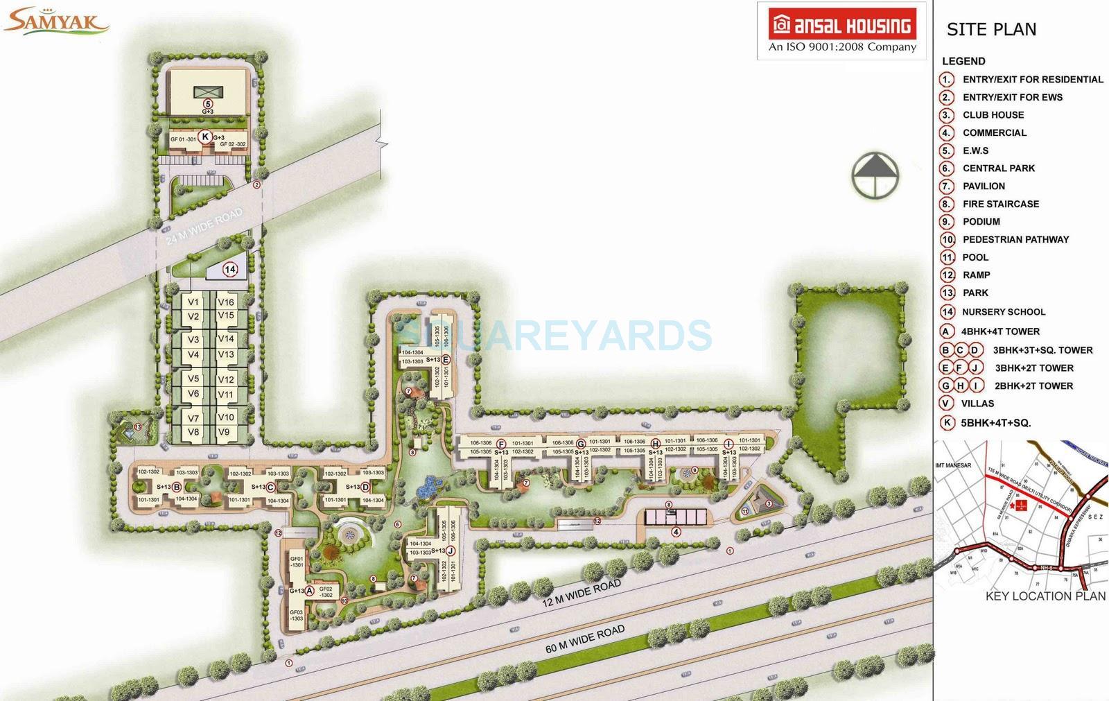 ansal height 2 master plan image1