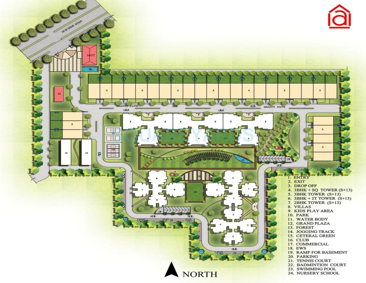ansal heights gurgaon master plan image6