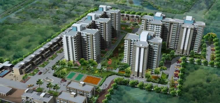 ansal heights gurgaon tower view5