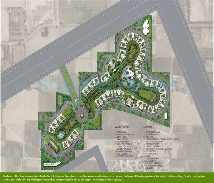 ardee city palm grove heights master plan image1