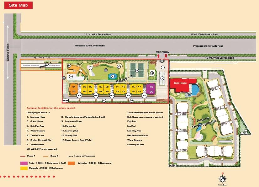 ashiana housing anmol master plan image3