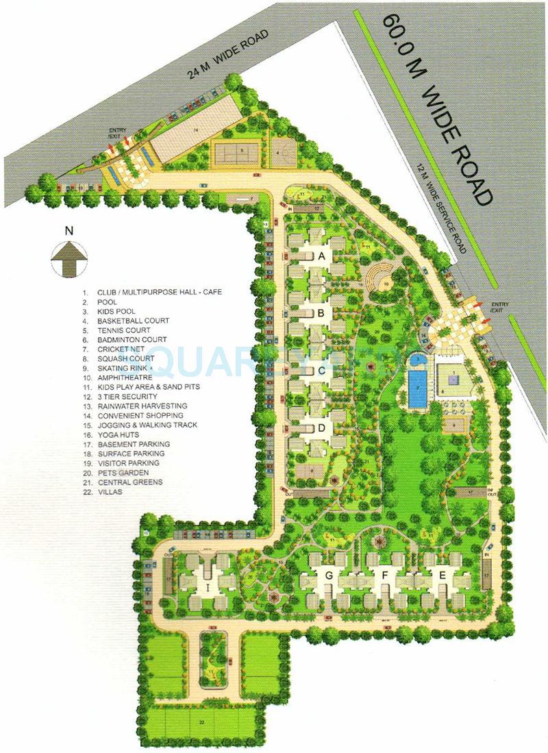 bestech park view ananda master plan image1