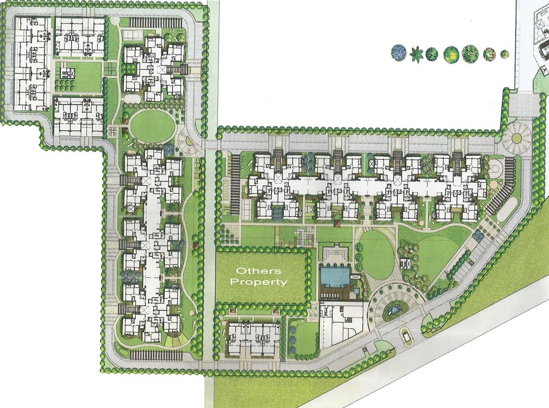 bestech park view ananda master plan image5