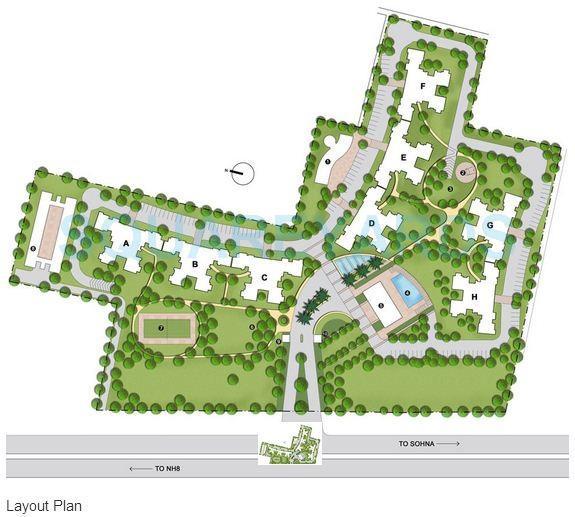 bestech park view city 2 master plan image1