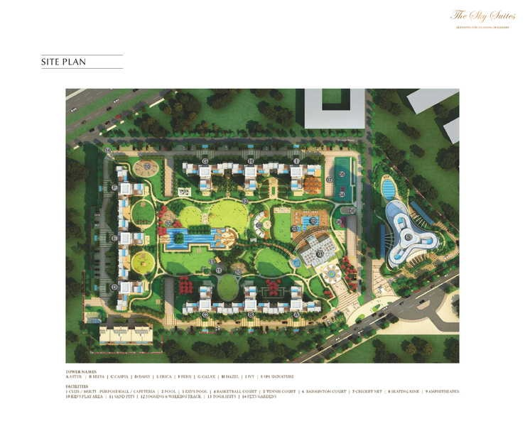 bestech park view grand spa spa signature tower master plan image9