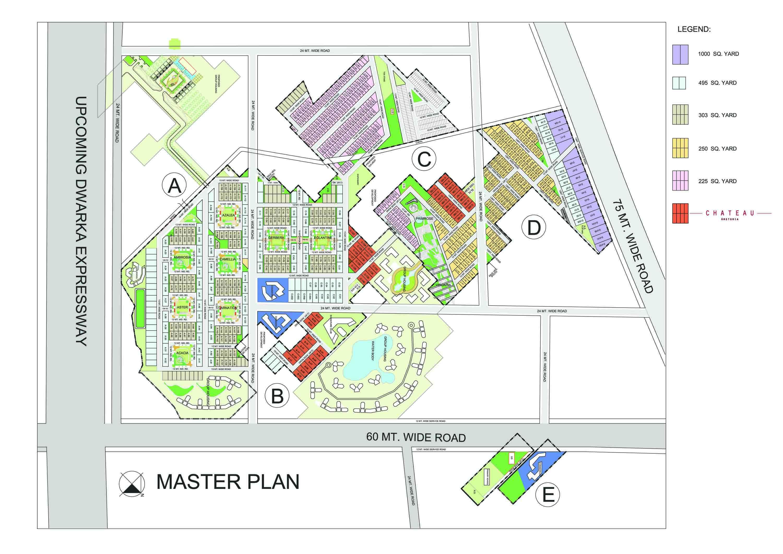 bptp amstoria master plan image1
