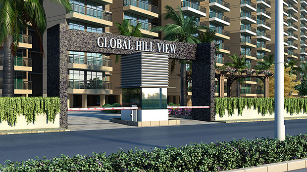 breez global hill view entrance view1