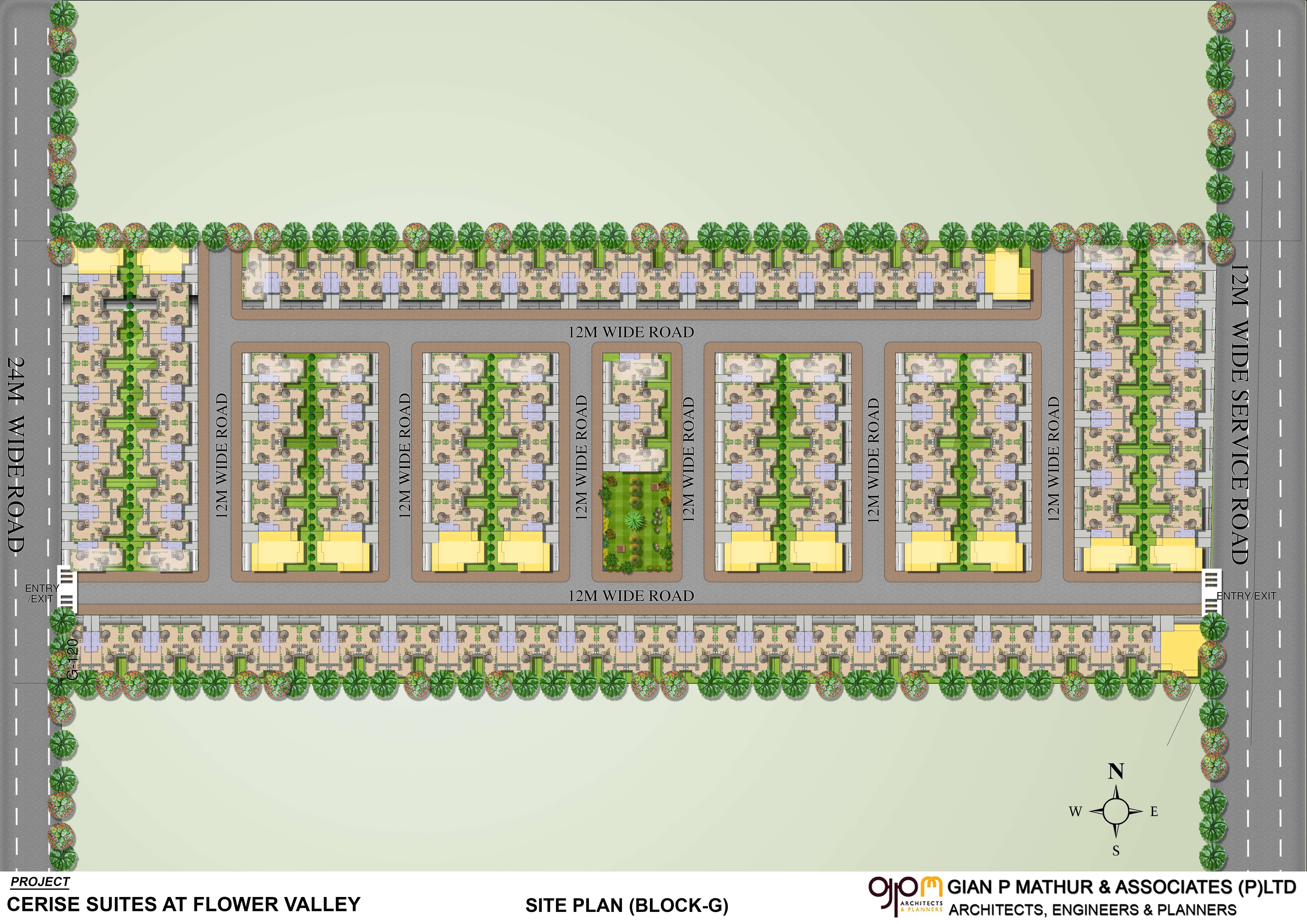 central park cerise suites master plan image1